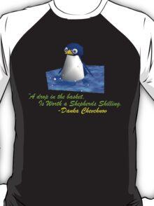 Malkovich's Gaming Guilty Pleasures, Mario Penguin - JonTron T-Shirt