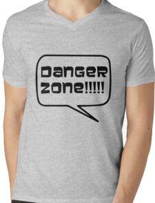 Danger Zone!!!! Mens V-Neck T-Shirt