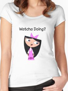 Phineas and Ferb - Isabella Women's Fitted Scoop T-Shirt