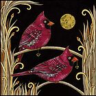 Cardinals by Anita Inverarity