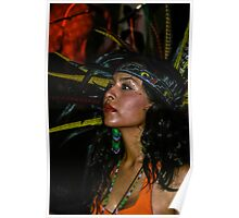 Aztec Beauty Poster