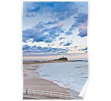 Nobbys Beach - Newcastle Poster