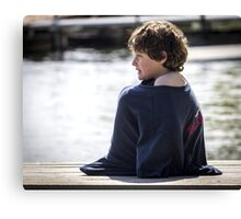 All Covered Up Canvas Print