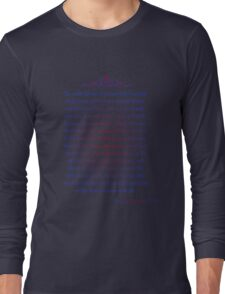 Man in the Arena - Teddy Roosevelt Long Sleeve T-Shirt