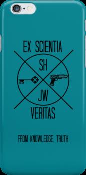 Sherlock Phone Case - Johnlock Edition by MCXI