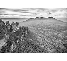 The Blue Moutains Photographic Print