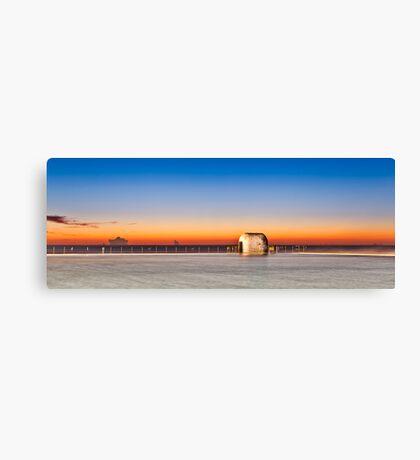 Merewether Baths Sunrise - Newcastle Australia Canvas Print