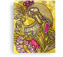 Dancing Bird Canvas Print