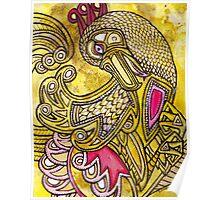 Dancing Bird Poster