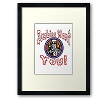 Zombies Want You! Framed Print