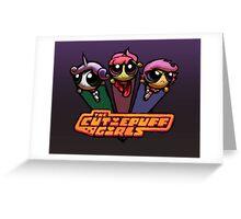 CutiePuff Girls Greeting Card