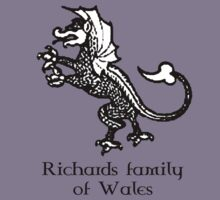 Welsh Heritage: Richards surname by Lorin Morgan-Richards