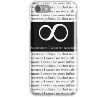 In that moment I swear we were infinite. | Perks of Being a Wallflower iPhone Case/Skin