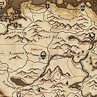 Skyrim Map  by faw-n
