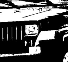 1987 Jeep Wrangler Sticker