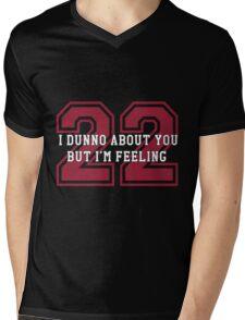 22 Sport Jersey  Mens V-Neck T-Shirt
