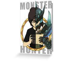 Hunter's Life (Neon Custom) Greeting Card