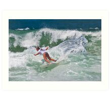 Surfs Up! Art Print