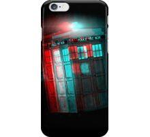 3D TARDIS iPhone Case/Skin