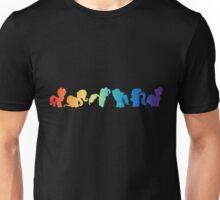 mane six silhouette  Unisex T-Shirt