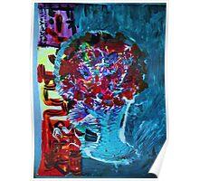 MEET ME IN OSAKA - acrylic, tempera, paper 18 x 24'' Poster