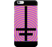 Inverted Psychedelic Cross iPhone Case/Skin