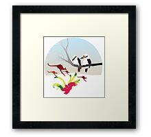 "Day 143 | 365 Day Creative Project  ""Kangaroos & Kookaburras"" Framed Print"