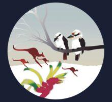 "Day 143   365 Day Creative Project  ""Kangaroos & Kookaburras"" Kids Clothes"