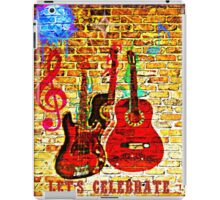 let's celebrate! iPad Case/Skin