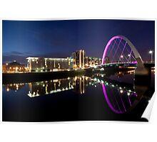 Squinty Bridge Poster