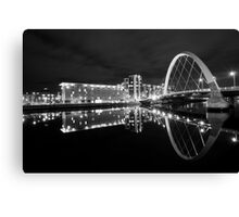 Clyde Reflections Canvas Print