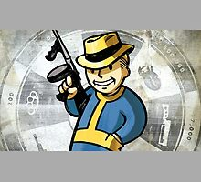 Fallout 4 Vault Boy by djcedrics