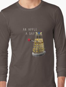 An Apple a Day Keeps the Doctor Away Long Sleeve T-Shirt