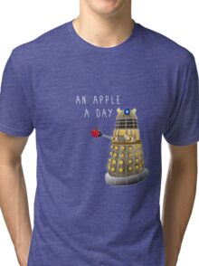 An Apple a Day Keeps the Doctor Away Tri-blend T-Shirt