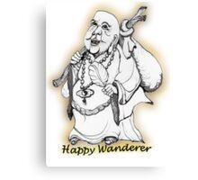 Happy Wanderer! Canvas Print