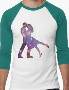 Cosmic Couple Men's Baseball ¾ T-Shirt