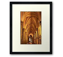 St. Patrick's Golden Arches Framed Print
