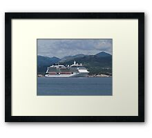 The Celebrity Silhouette Framed Print