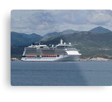 The Celebrity Silhouette Metal Print