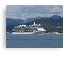 The Celebrity Silhouette Canvas Print