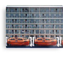 Six Decks and Two Life Boats Metal Print