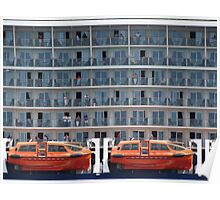 Six Decks and Two Life Boats Poster