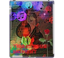 this is your moment iPad Case/Skin