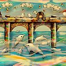 Dolphin Pier by © Karin (Cassidy) Taylor