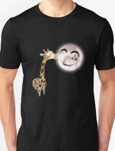 A Giraffe Can Kiss The Moon T-Shirt