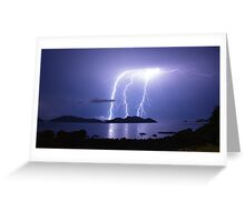Lord of the Thunder Greeting Card