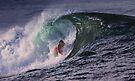Surfer at Ala Moana Bowls .5 by Alex Preiss