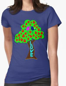 °•Ƹ̵̡Ӝ̵̨̄Ʒ♥Sweet Lovebirds Kissing on a Romantic Love Tree Clothing & Stickers♥Ƹ̵̡Ӝ̵̨̄Ʒ•° T-Shirt