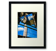 Blue Sky Thinking Framed Print