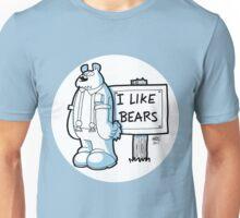 I Like Bears - White Unisex T-Shirt
